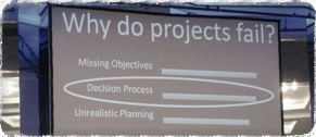 Why do projects fail ?